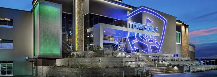 topgolf venue exterior