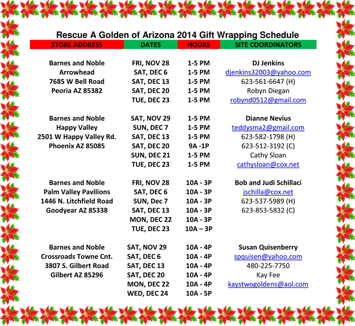 Gift-Wrap-2014-Schedule-updated