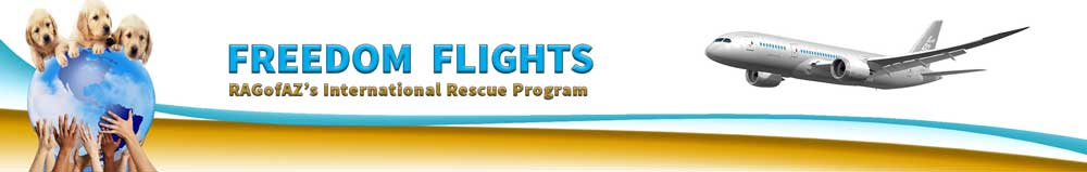 International Rescue Banner Freedom Flight