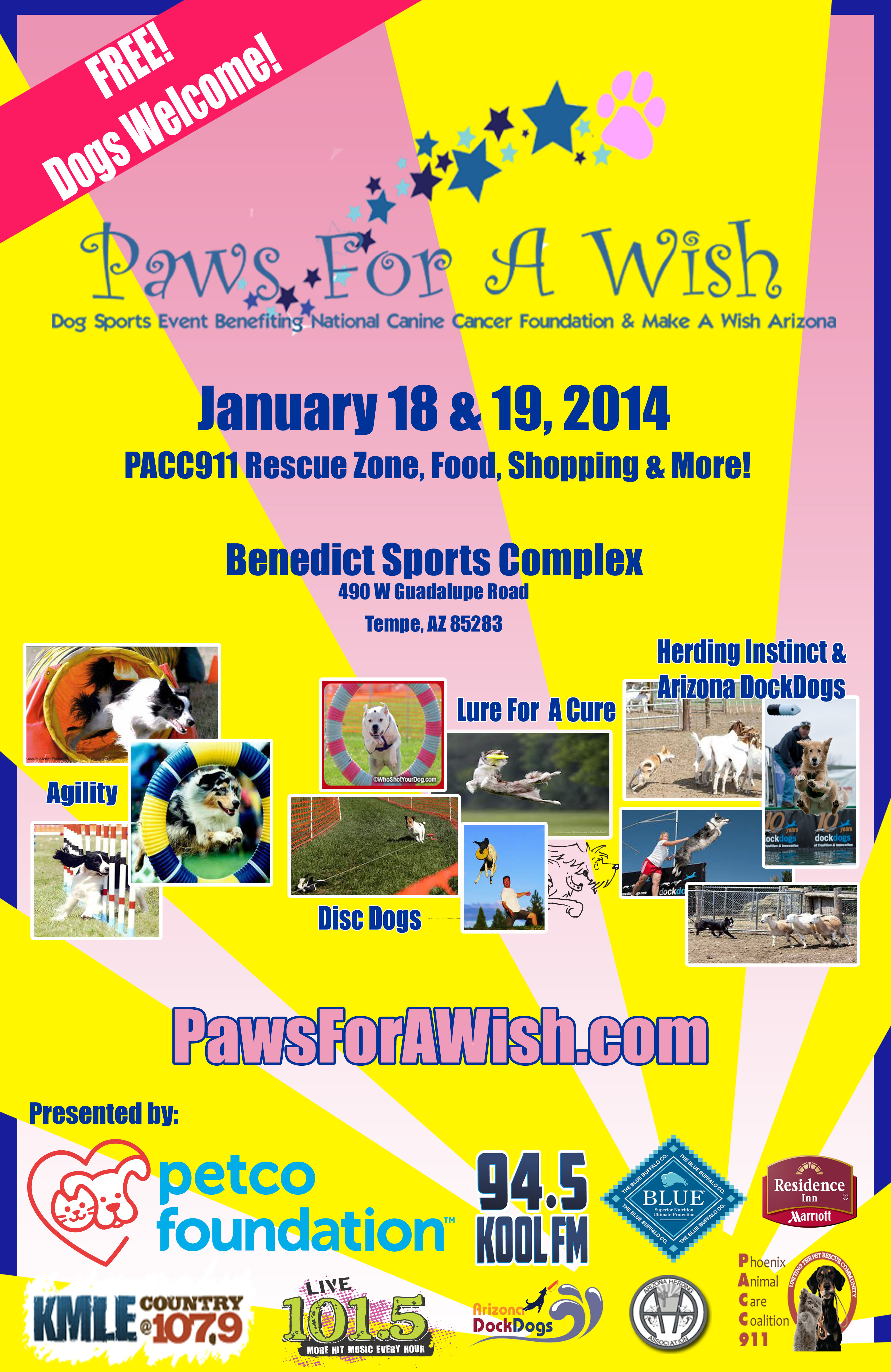 PACC911 Paws poster  2014