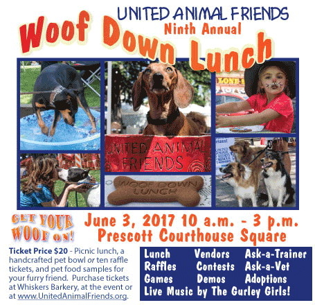 Woofdown Lunch 2017