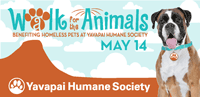 Yavapai Humane Society Walk for the Animals