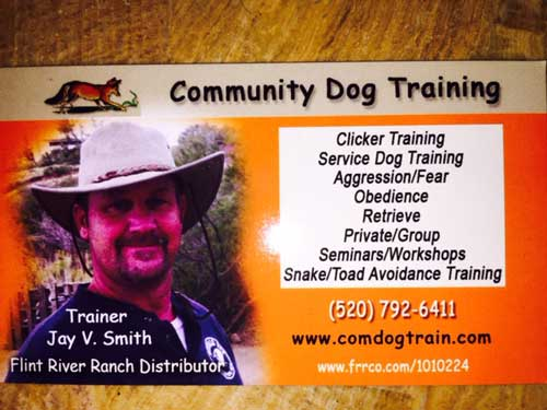 Community Dog Training Jay Smith